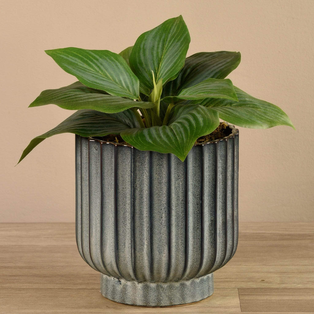 Potted Hosta Bloomr Artificial Flowers & Artificial Trees