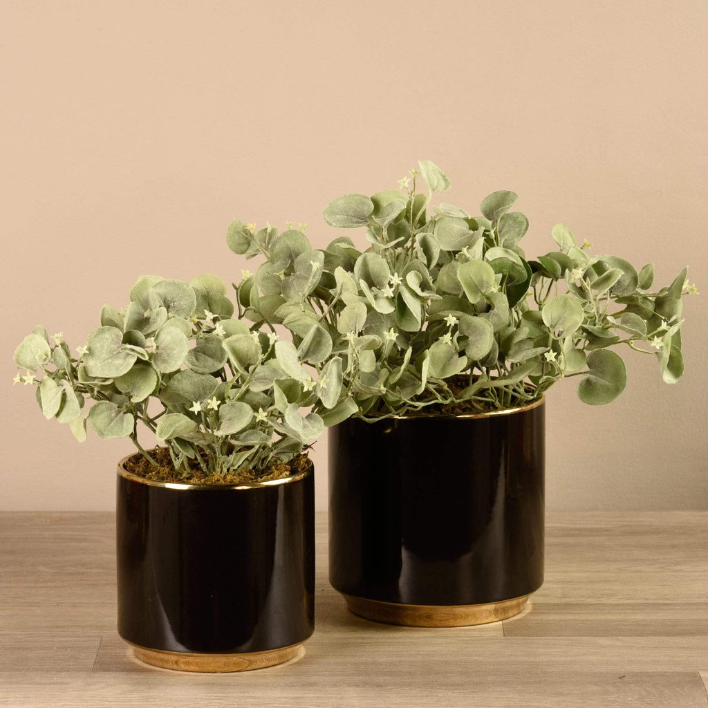 Artificial Potted Silver Falls Bloomr Artificial Flowers & Artificial Trees