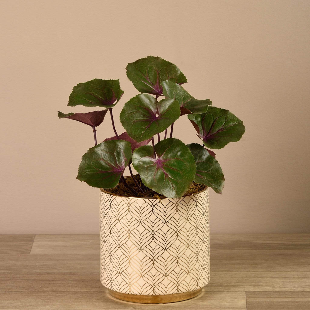 Potted Ligularia Bloomr Artificial Flowers & Artificial Trees