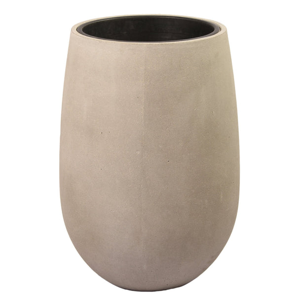 Large Round Ficonstone Tree Pot