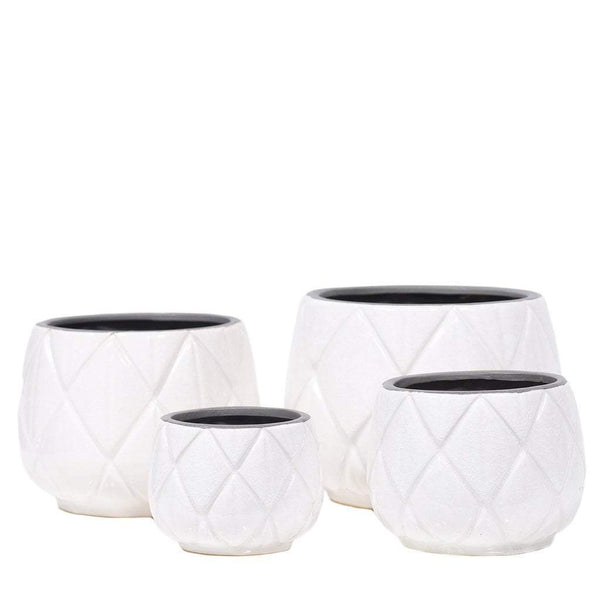 Ceramic Vase Bloomr Home Artificial Flowers and Trees