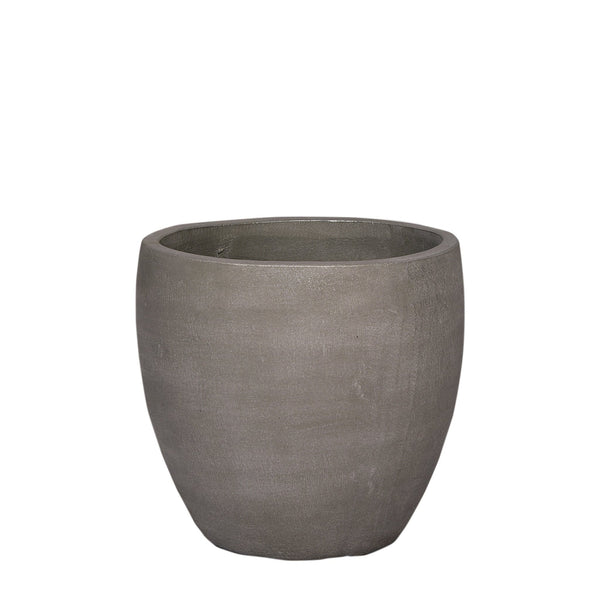 Round Cement Tree Pot - Small