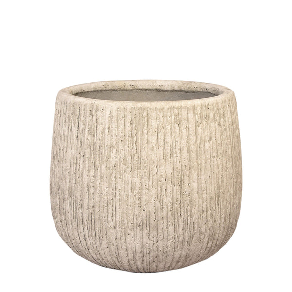Round Ficonstone Tree Pot - Large