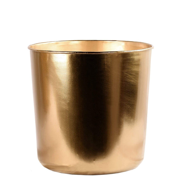 Round Metal Planter Small