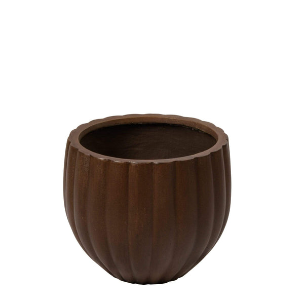 Small Round Ficonstone Tree Pot