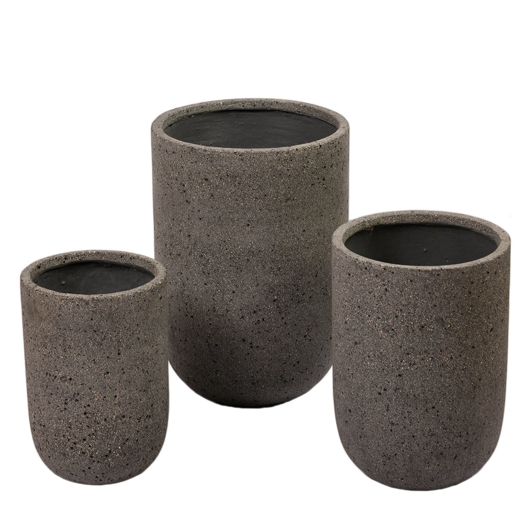 Round Ficonstone Pot Bloomr Artificial Flowers & Artificial Trees