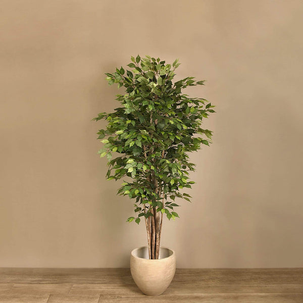 Artificial Ficus Benjamin Tree - Bloomr
