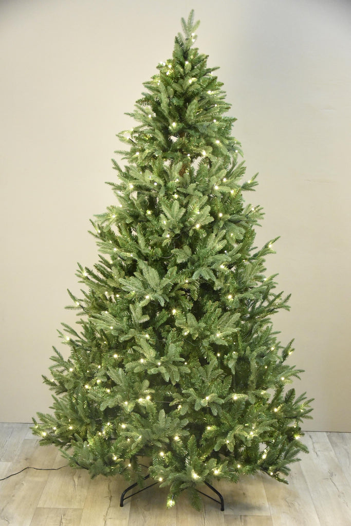 Christmas Tree with 300 LED and Dimmer Bloomr Home Artificial Flowers and Trees