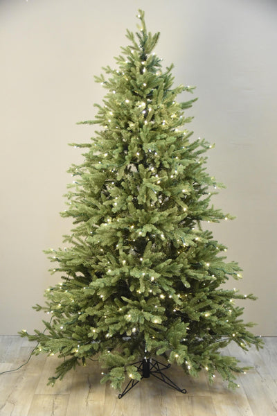 Christmas Tree with 400 LED Lights Medium Bloomr Home Artificial Flowers and Trees