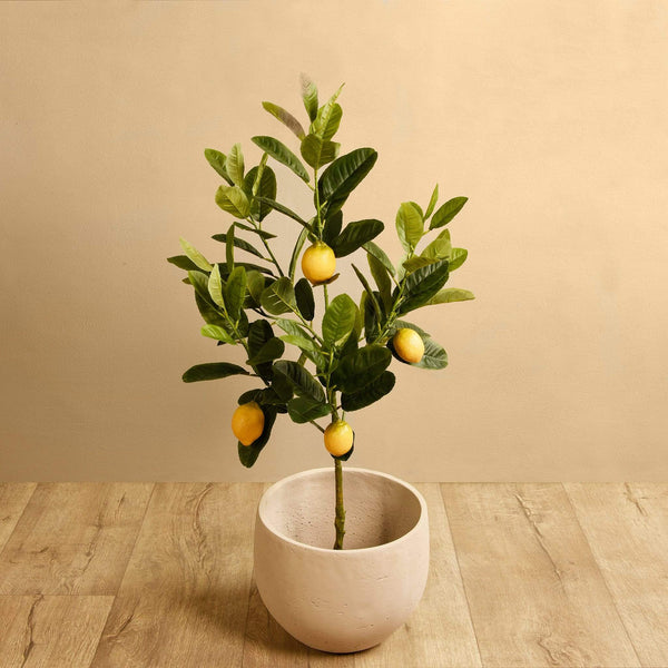 Artificial Lemon Tree - Bloomr