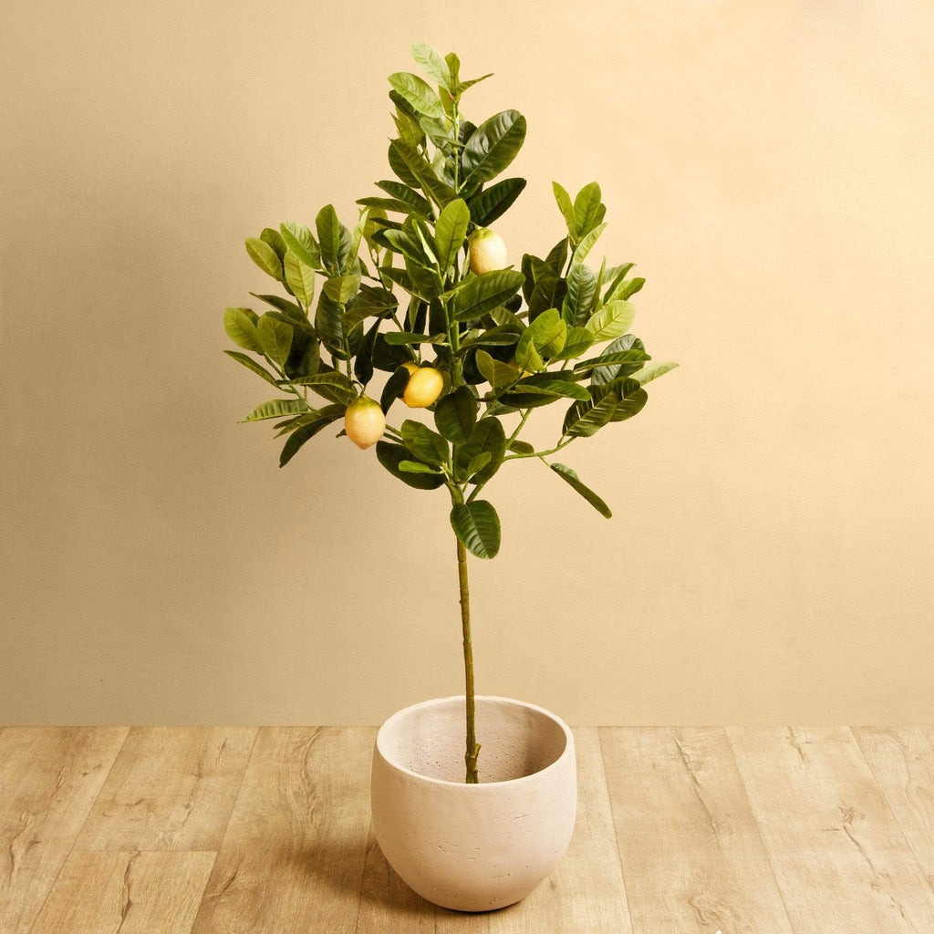 Artificial Lemon Tree Bloomr Artificial Flowers & Artificial Trees