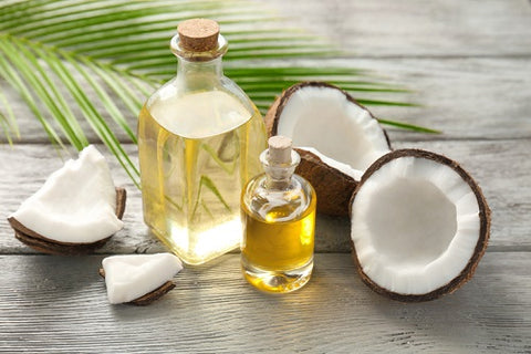 fresh coconut oil image