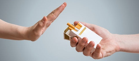 quitting smoking concept image