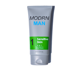 Mens sensitive skin face wash and shave cream for dry and cracked skin.  Save your face from dry skin today.
