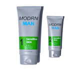 Mens 2 step sensitive skin system for dry and cracked skin.  Save your face from dry skin today.