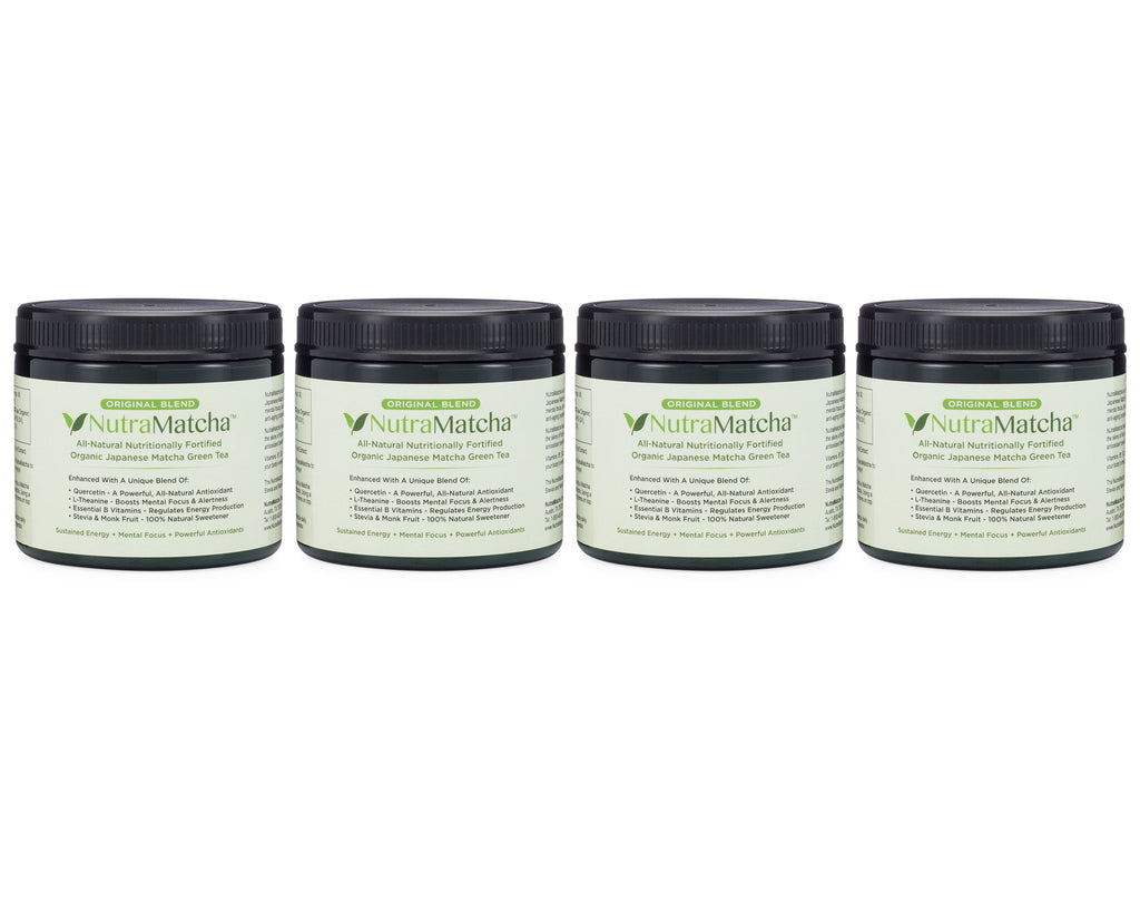 NutraMatcha Original Blend 4 Month Supply