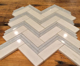 Passeggiata - Bianco Dolomiti Blue Celeste - CALL FOR PRICING - Briddick Tile + Stone