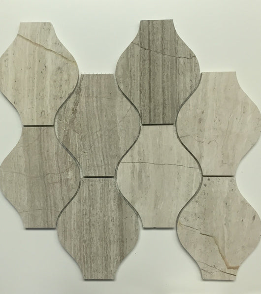 GREY OAK LANTERN - Briddick Tile + Stone