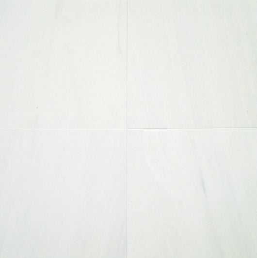 12x12 Alpine Marble Collection Polished - Bianco Puro - Briddick Tile + Stone
