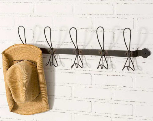 Brooklyn Black Coat Rack - Briddick Tile + Stone