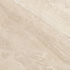 "18x18"" ROYAL QUEEN BEIGE HONED MARBLE TILE - Briddick Tile + Stone"