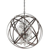 "CAPITAL LIGHTING C4236CR ""AXIS"" ENTRANCE / FOYER PENDANT - Briddick Tile + Stone"
