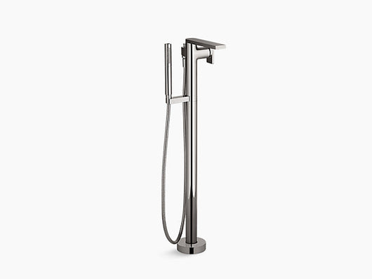 Kohler Composed® floor-mount bath filler trim with handshower - Briddick Tile + Stone