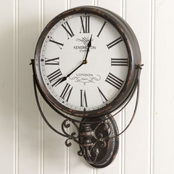 Kensington Station Wall Clock - Briddick Tile + Stone