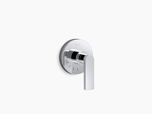 Kohler Composed® volume control valve trim with lever handle - Briddick Tile + Stone