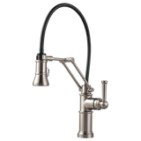 BRIZO ARTESSO® SINGLE HANDLE ARTICULATING KITCHEN FAUCET 63225LF - Briddick Tile + Stone
