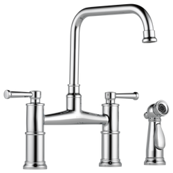 ARTESSO® BRIDGE FAUCET WITH SIDE SPRAYER