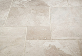 FRENCH PATTERN QUEEN BEIGE MARBLE TILE - Briddick Tile + Stone