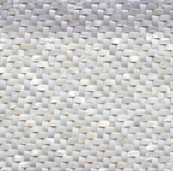 HERRINGBONE  MOTHER OF PEARL SHELL - Briddick Tile + Stone
