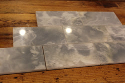 3X6 ASHTON BLUE ONYX POLISHED - Briddick Tile + Stone