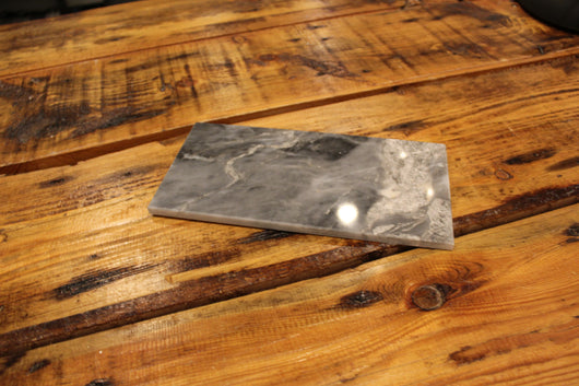6X12 TURKISH GRAY POLISHED MARBLE TILE - Briddick Tile + Stone