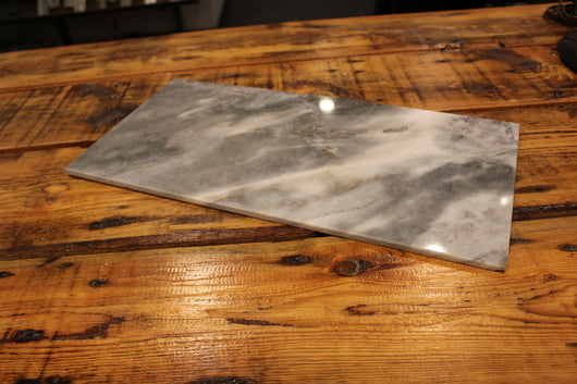 12X24 TURKISH GRAY POLISHED MARBLE TILE - Briddick Tile + Stone
