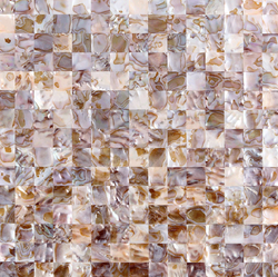 COLOR MOTHER OF PEARL FLAT SHELL - Briddick Tile + Stone