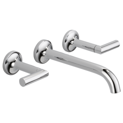 ODIN™ TWO HANDLE WALL-MOUNT LAVATORY FAUCET 65875LF - Briddick Tile + Stone