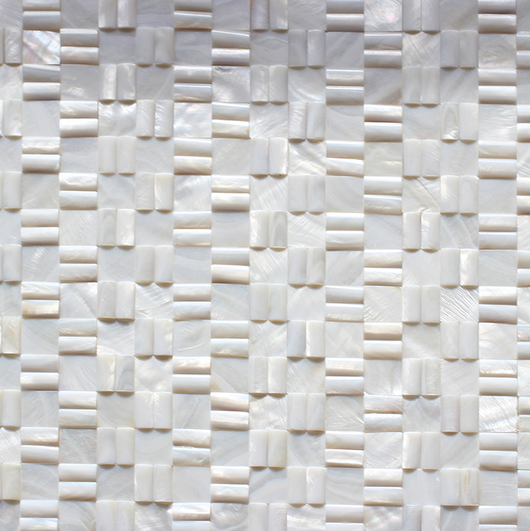 MULTI ROPE MOTHER OF PEARL SHELL - Briddick Tile + Stone