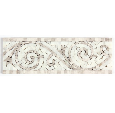 THASSOS AND VALDI FINE LISTELLO - Briddick Tile + Stone