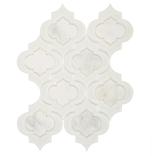 VALDI GLASS ARBESQUE POLISHED - Briddick Tile + Stone