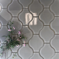 LANTERN GREY GLASS - Briddick Tile + Stone