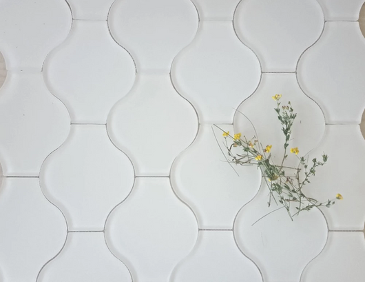LANTERN FROSTED GLASS - Briddick Tile + Stone