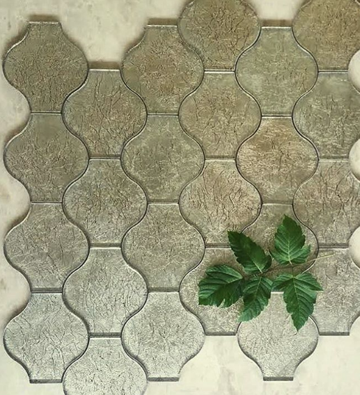 LANTERN GOLD GLASS - Briddick Tile + Stone