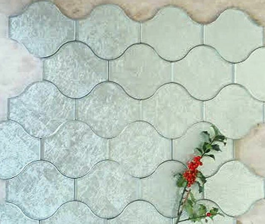 LANTERN SILVER GLASS - Briddick Tile + Stone