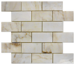 2X4 AFYON SUGAR MARBLE POLISHED - Briddick Tile + Stone