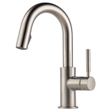 SOLNA® SINGLE HANDLE PULL-DOWN PREP FAUCET - Briddick Tile + Stone