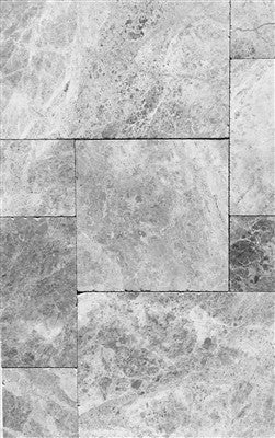 GREY VIEN CHISELED FRENCH PATTERN 8*8/8*16/16*16/16*24 - Briddick Tile + Stone