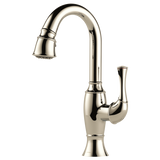 TALO® SINGLE HANDLE PULL-DOWN PREP FAUCET WITH SMARTTOUCH® TECHNOLOGY - Briddick Tile + Stone