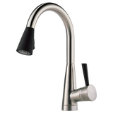 VENUTO® SINGLE HANDLE PULL-DOWN KITCHEN FAUCET - Briddick Tile + Stone
